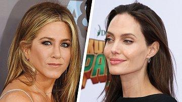 Jennifer Anistonová a Angelina Jolie