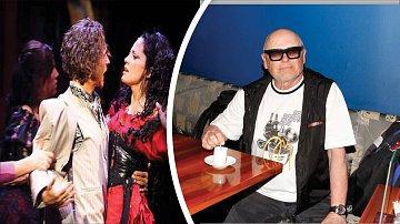 Před představením muzikálu Carmen je na chodbách karlínského divadla pořádná sranda.