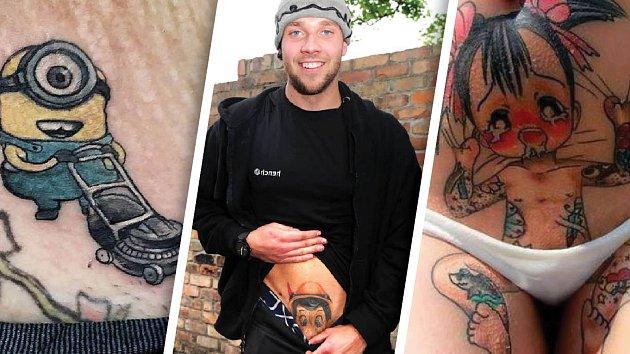 Někdy lidé možná ani nepřemýšlí o tom, že tetování jim zůstane až do stáří...