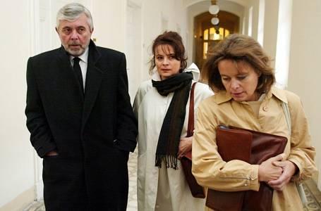 Libuše Šafránková, Josef Abrhám, Miroslava Šafránková