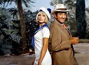 Vdobrodružném filmu Rumový bulvár (1971) si zahrál sBrigitte Bardot.