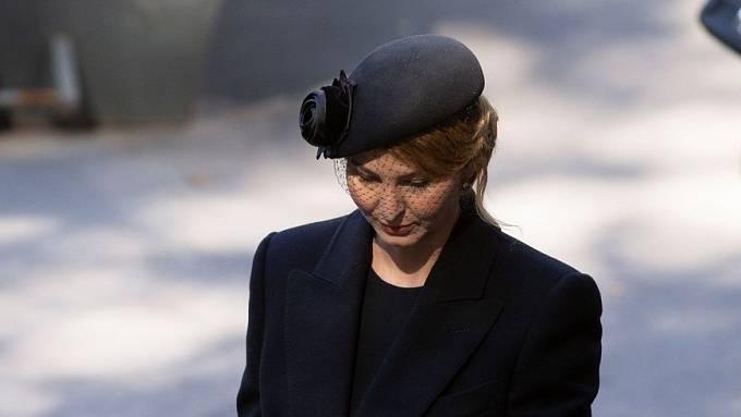 Ivana Gottová se po smrti svého manžela stáhla do ústraní.