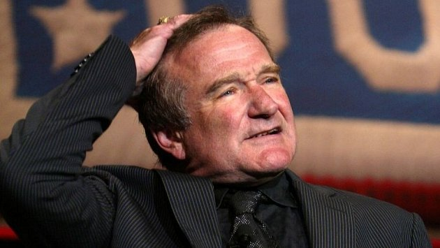 Robin Williams už není mezi živými...