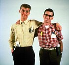 Anthony (vlevo) s Robertem Carradinem v komedii Pomsta šprtů (1984)