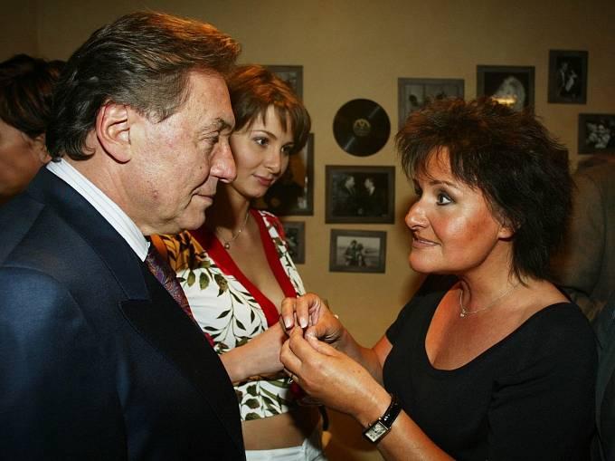 Karel Gott a Jitka Zelenková