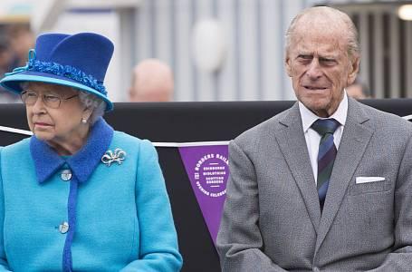 Alžběta II. a princ Philip