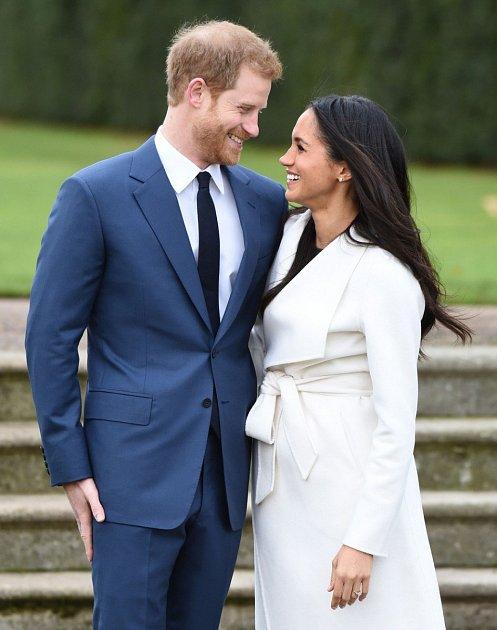 Meghan Markle může na svém snoubenci oči nechat…