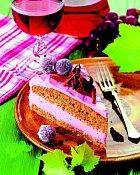Celozrnný dort