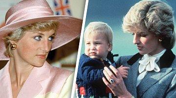 Princezna Diana byla oblíbená po celém světě.