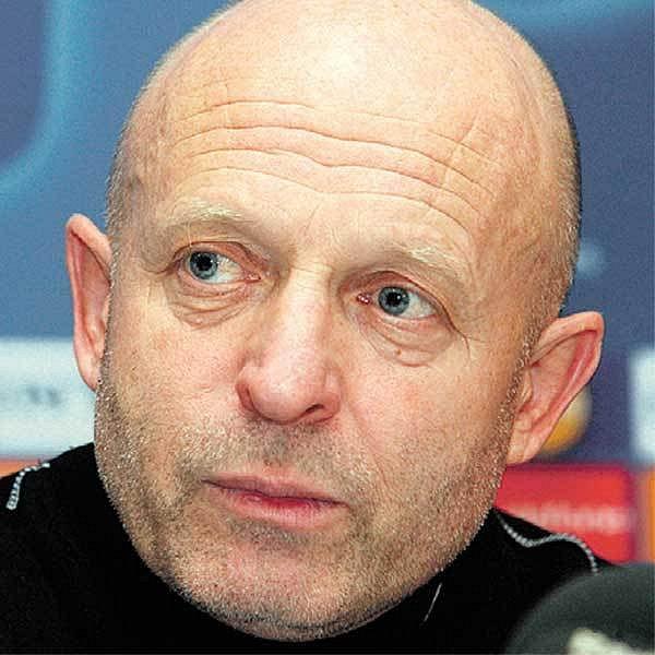 Slávistický trenér Karel Jarolím
