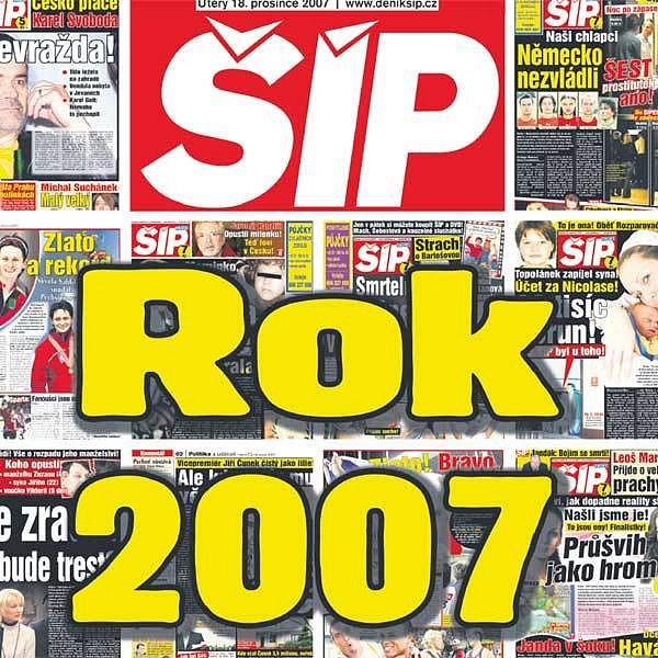 Rok 2007 očima Šípu