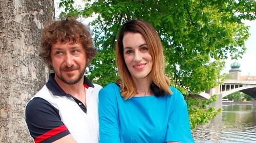Lucie Křížková a David Křížek