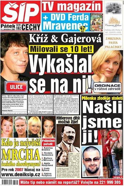 Titulka 14. 12. 2007