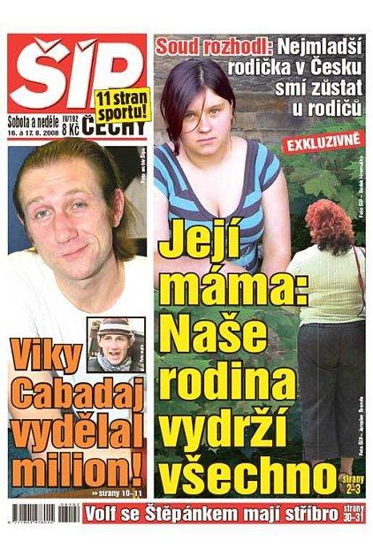 Titulka 16. 8. 2008