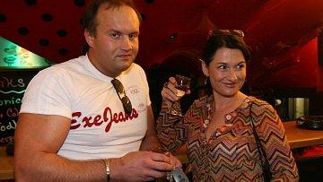 Mirka Čejková ještě v dobách pohody s exmanželem Markem Vítem.