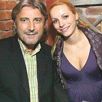 Bohumír Ďuričko s přítelkyní na osudné party, jen pár okamžiků před tím, než se akce nepěkně zvrhla.