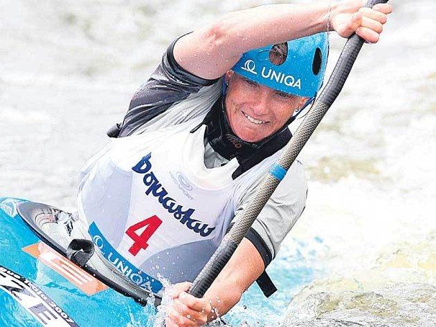 Štěpánka Hilgertová si vychutnala vítězství v Troji po šesti letech.