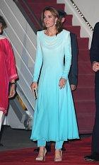 Kate Middleton na královské cestě Pákistánem