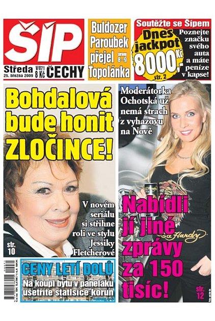 Titulka 25. 3. 2009