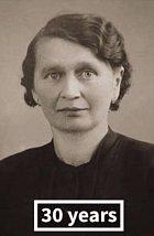 Anna P. ve třiceti letech.