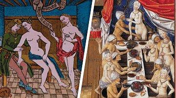I ve středověkém nevěstinci platila některá přísná pravidla.