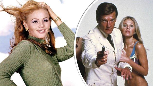 Britt Ekland se proslavila zejména díky bondovce Muž se zlatou zbraní.