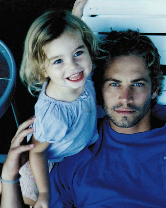 Paul Walker s dcerou.