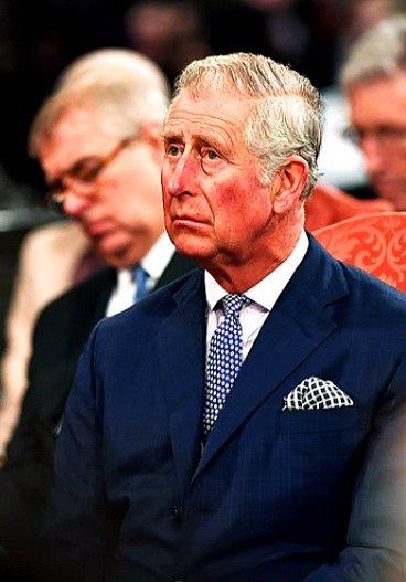 Charles. Syn Královny Alžběty II.