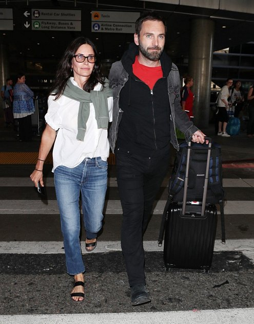 Courtney Cox a Johnny McDaid