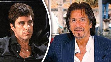Al Pacino dříve a nyní