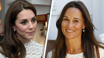 Kate a Pippa Middletonovy