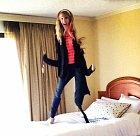 Skákací hotelový mutant.