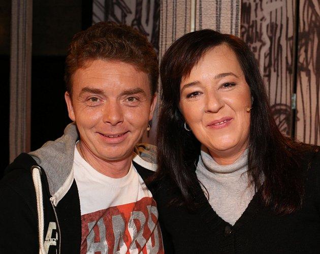 Milan Šimáček a Žaneta Fuchsová