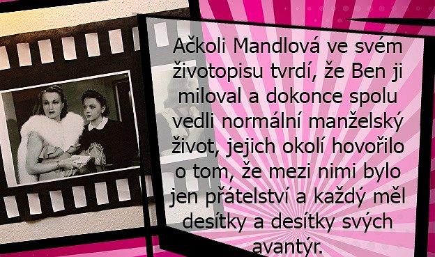 Příběh Adiny Mandlové je opředen záhadami.