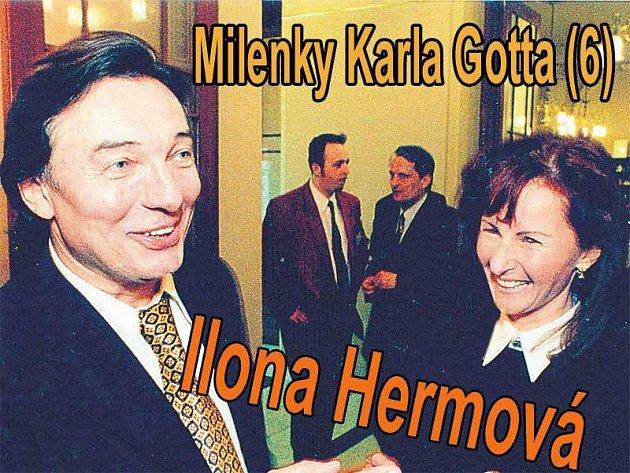 Karel Gott a Ilona Hermová