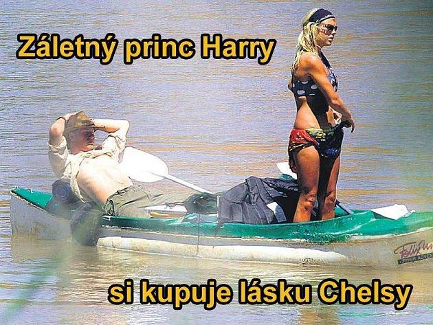 Princ Harry se svou láskou Chelsy