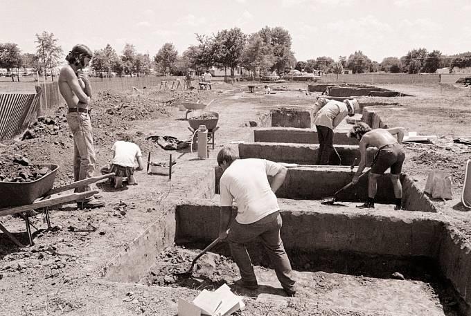 Archeologové tu měli práci namnoho desítek let.