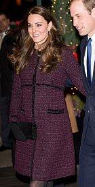 Těhotná Kate a William