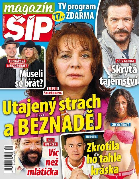 Titulní strana Magazínu Šíp 7.7.2016