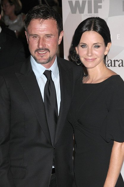 Courtney Cox a David Arquette