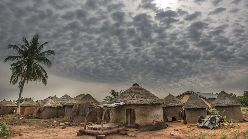 Typický obrázek Ghany