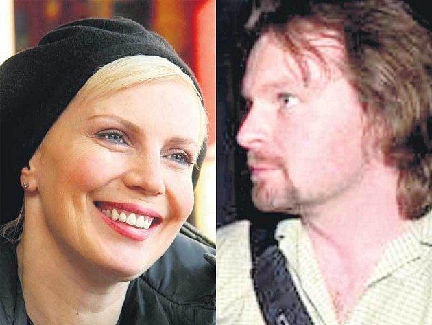 Kateřina Kernová a Petr Škvrně