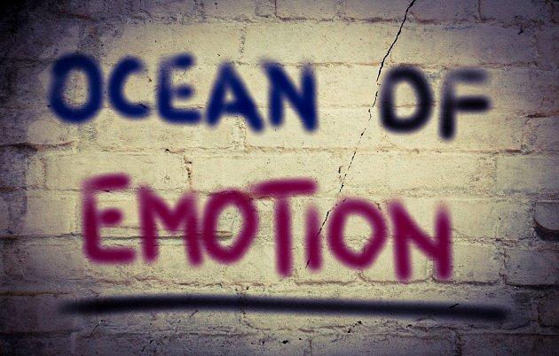 Učlověka je celá škála emocí.