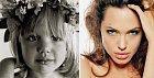 Angelina Jolie uměla svůj svůdný pohled už jako malé děvčátko.