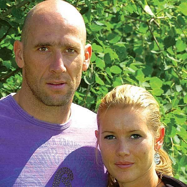 Jan Koller s ženou Hedvikou