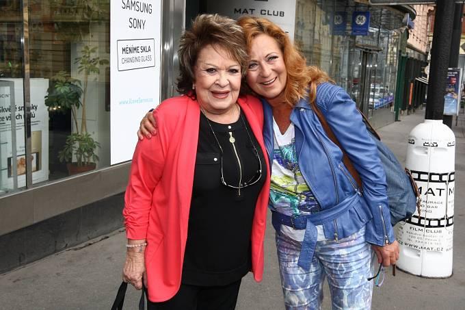 Jiřina Bohdalová a Simona Stašová