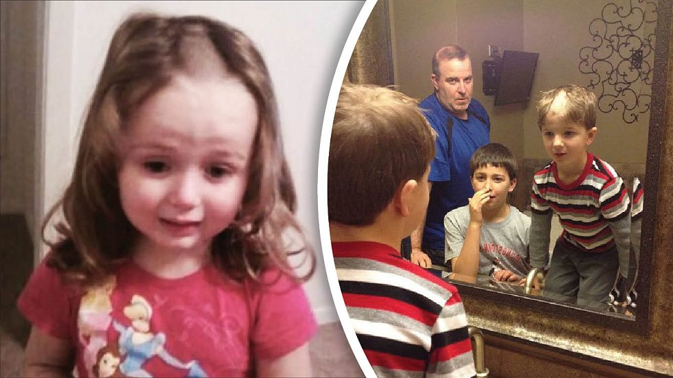 Děti si často myslí, že se zvládnou ostříhat samy. Nezvládnou.