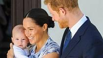 Archie se narodil v londýnské soukromé nemocnici Portland.