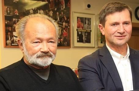 Rudolf a Jan Hrušínský