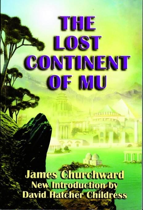 Ztracený kontinent Mu, kniha od Jamese Churchwarda